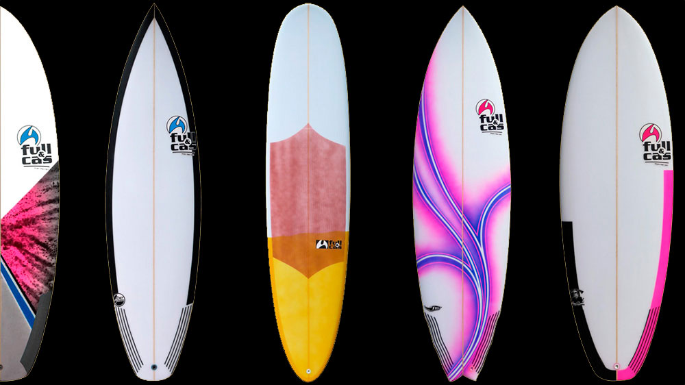 "Designbeispiele · Custom Made Surfboards von Full & Cas · SURFSCHULE ""surfnsoul.com"""