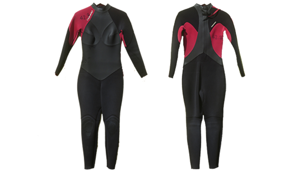Wetsuit · 4/3 mm · Sizes: Women S, M, L · Price: 20 €