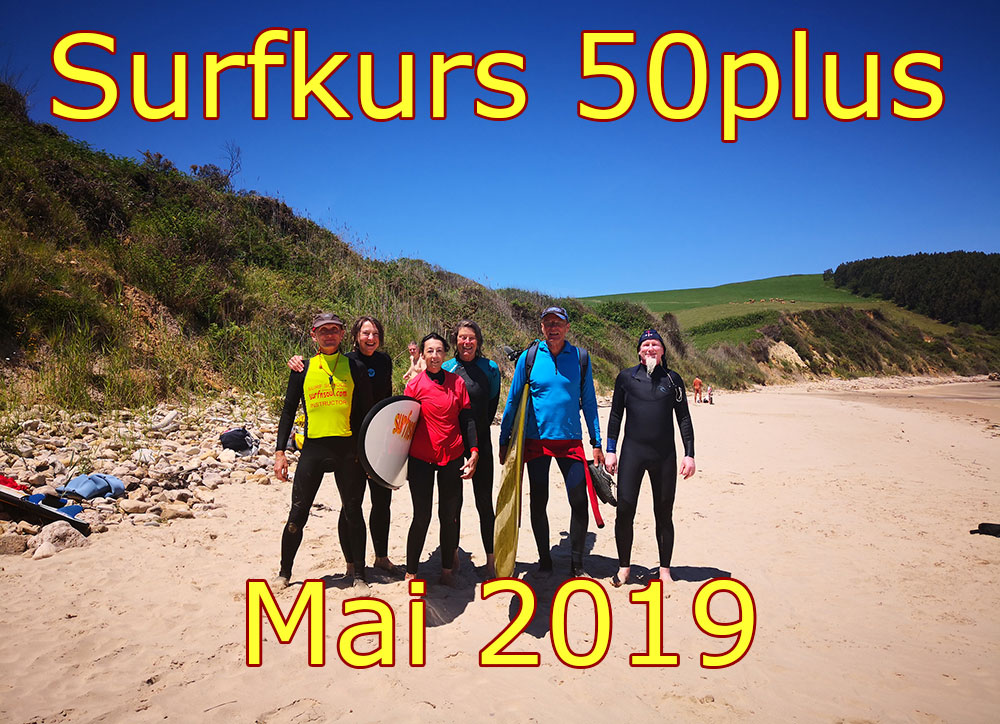 Surf Course 50plus May 2019