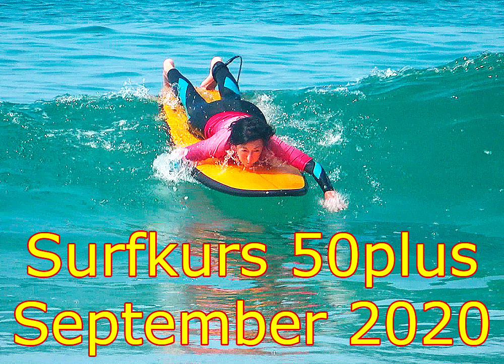 Surf Course 50plus September 2020